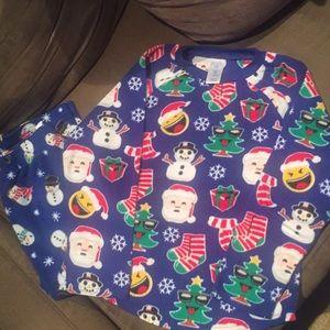 Unisex kids 2 piece pajama set
